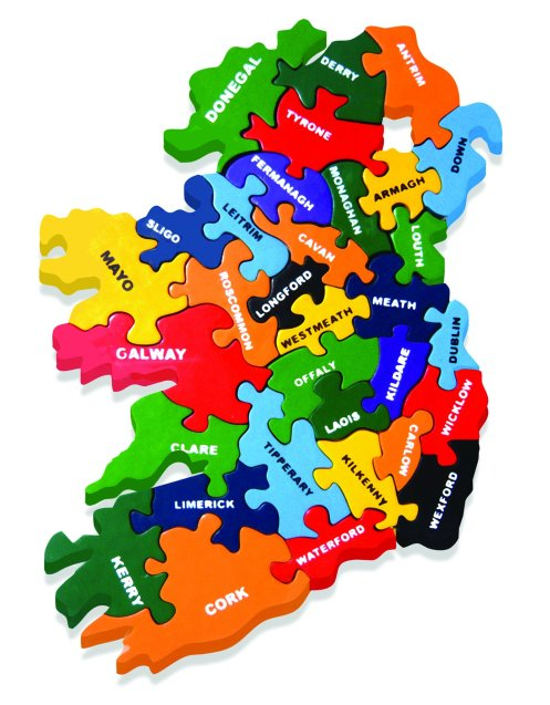 Jigsaw map