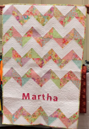 Show and Tell Martha's Quilt