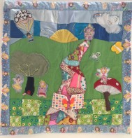 """Fairy Patchwork Magic"" Aoife Behan"