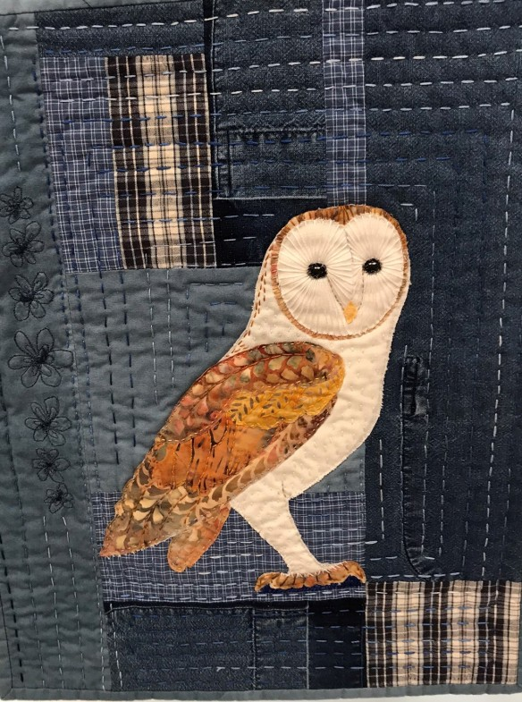 QGI Finished Past Projects Jean Kelly Owl