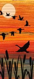 Challenge Living World 2nd Geraldine Daly 'Wild Geese'
